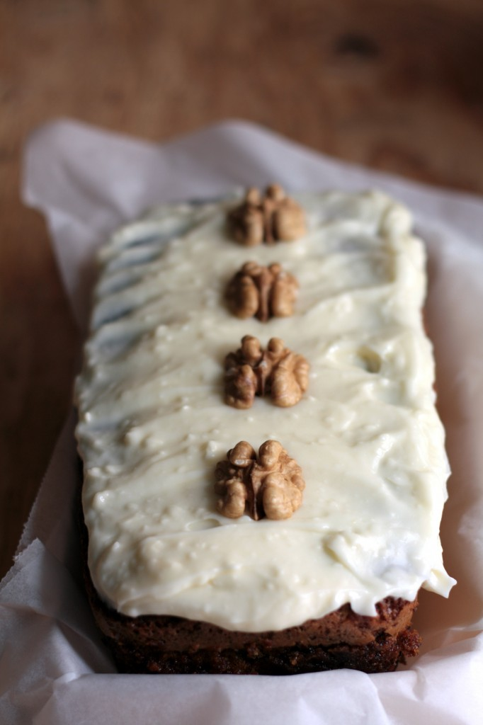 Receta de pastel de zanahoria - carrot cake
