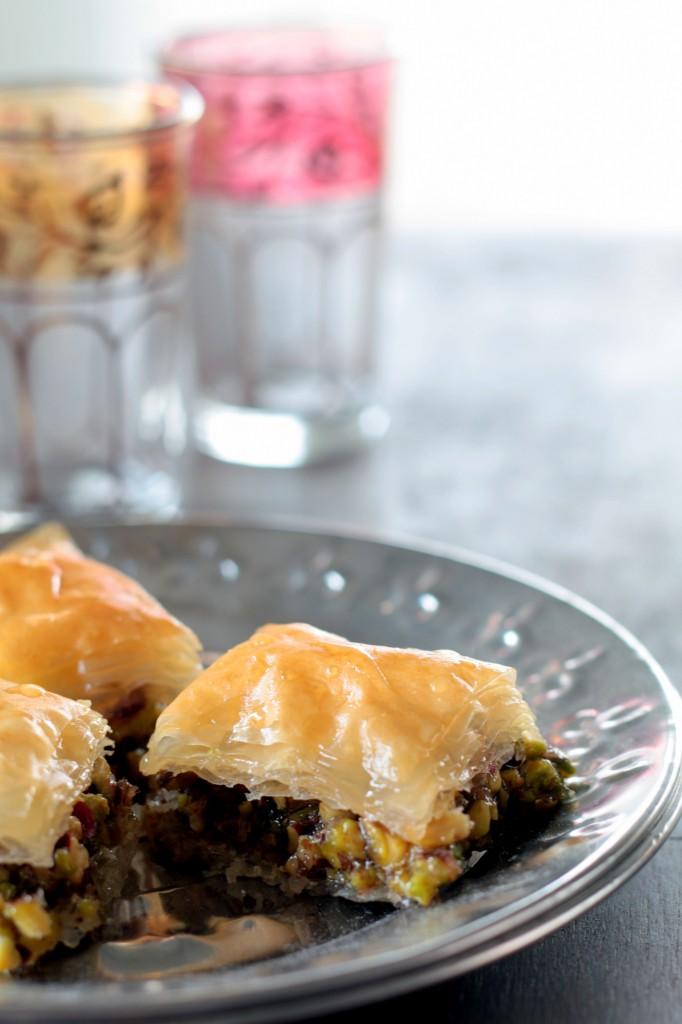 baklavas de pistachos