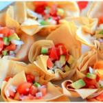 receta de cestitas de ensalada