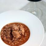 risotto de cordero y vino tinto - cocina para emancipados