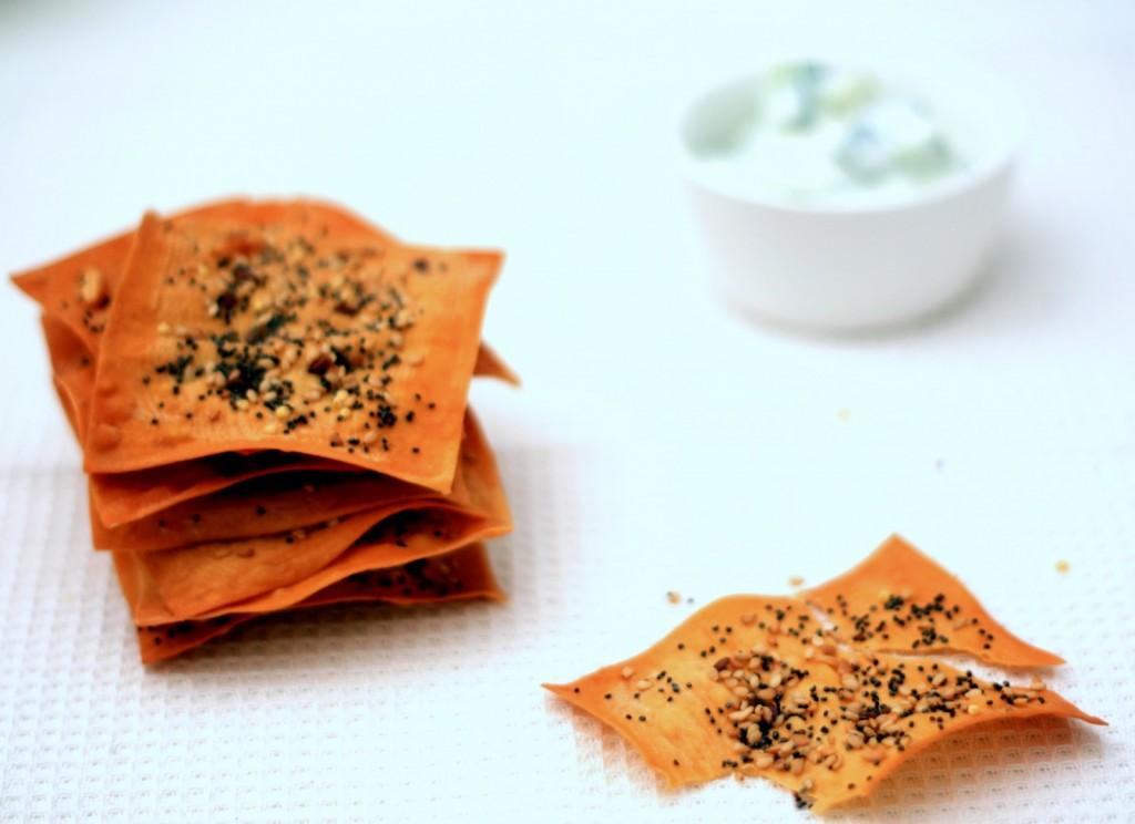crackers de wonton