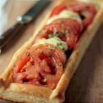 Tarta de Mozzarella y Tomate