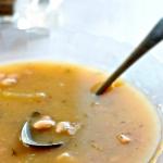 Sopa de Judías Blancas y Patata