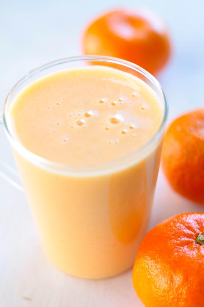 smoothie de mandarina