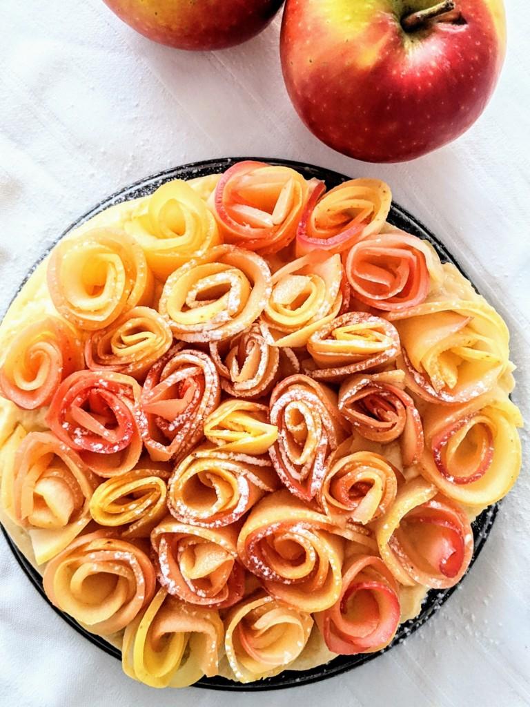 tarta-manzana-crema-pastelera-hojaldre
