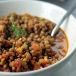 Lentejas Estofadas Vegetarianas